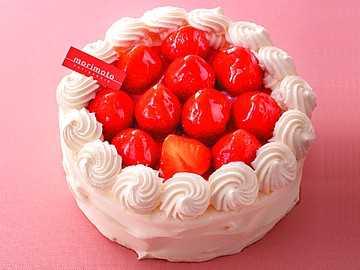 お誕生日にはお好きなホールケーキをプレゼント♪